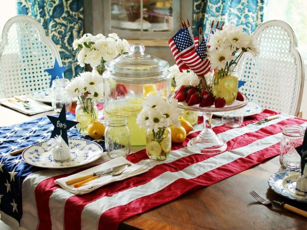 (3) Flag Tablecloth
