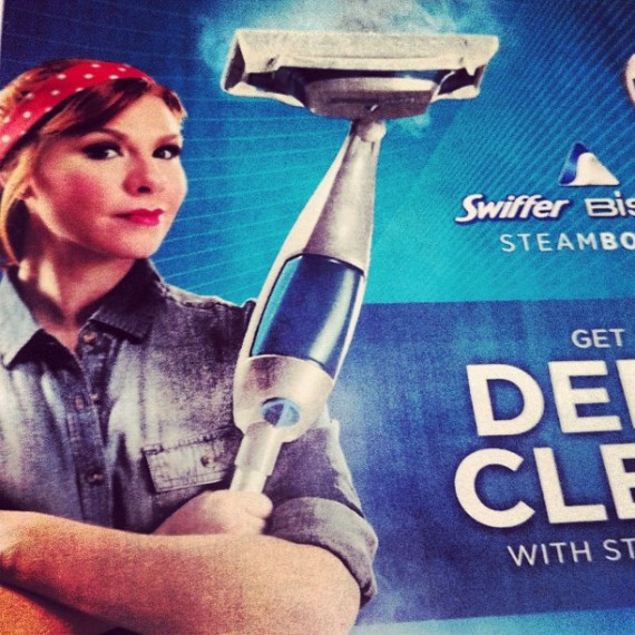 Rosie the Riveter Swiffer